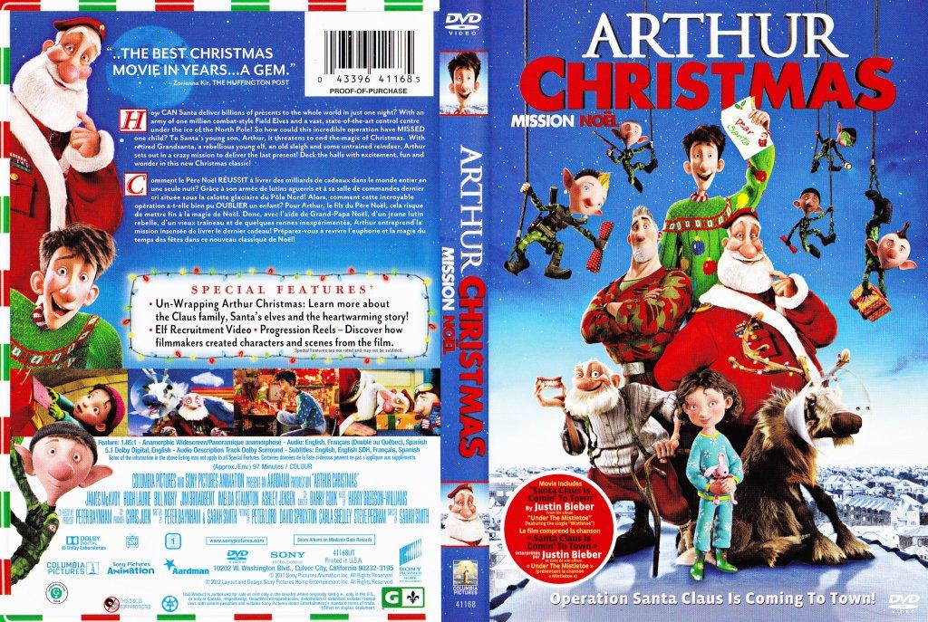 arthur christmas mission nol - Arthur Christmas Dvd