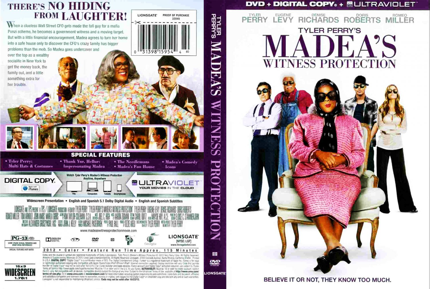 madeas witness protection dvd cover -#main