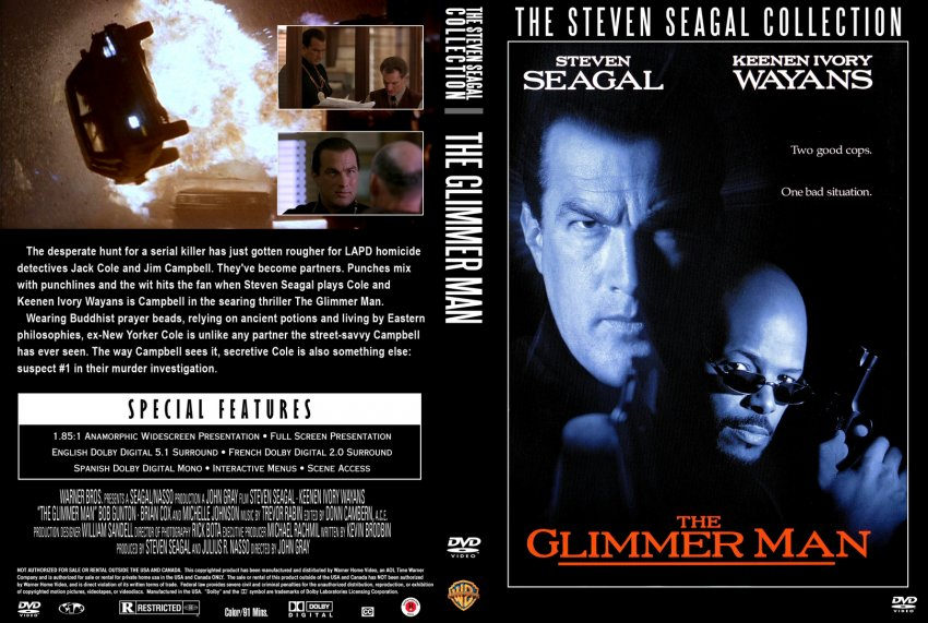 steven seagal collection the glimmer man movie dvd