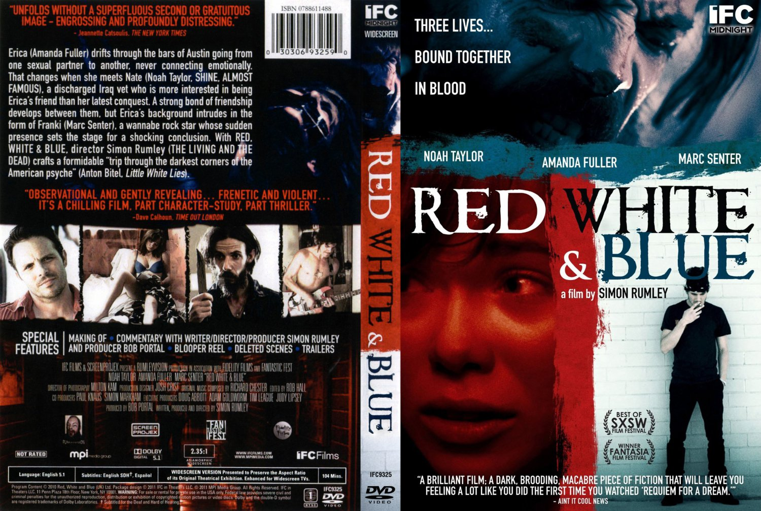 red white amp blue movie dvd scanned covers red white