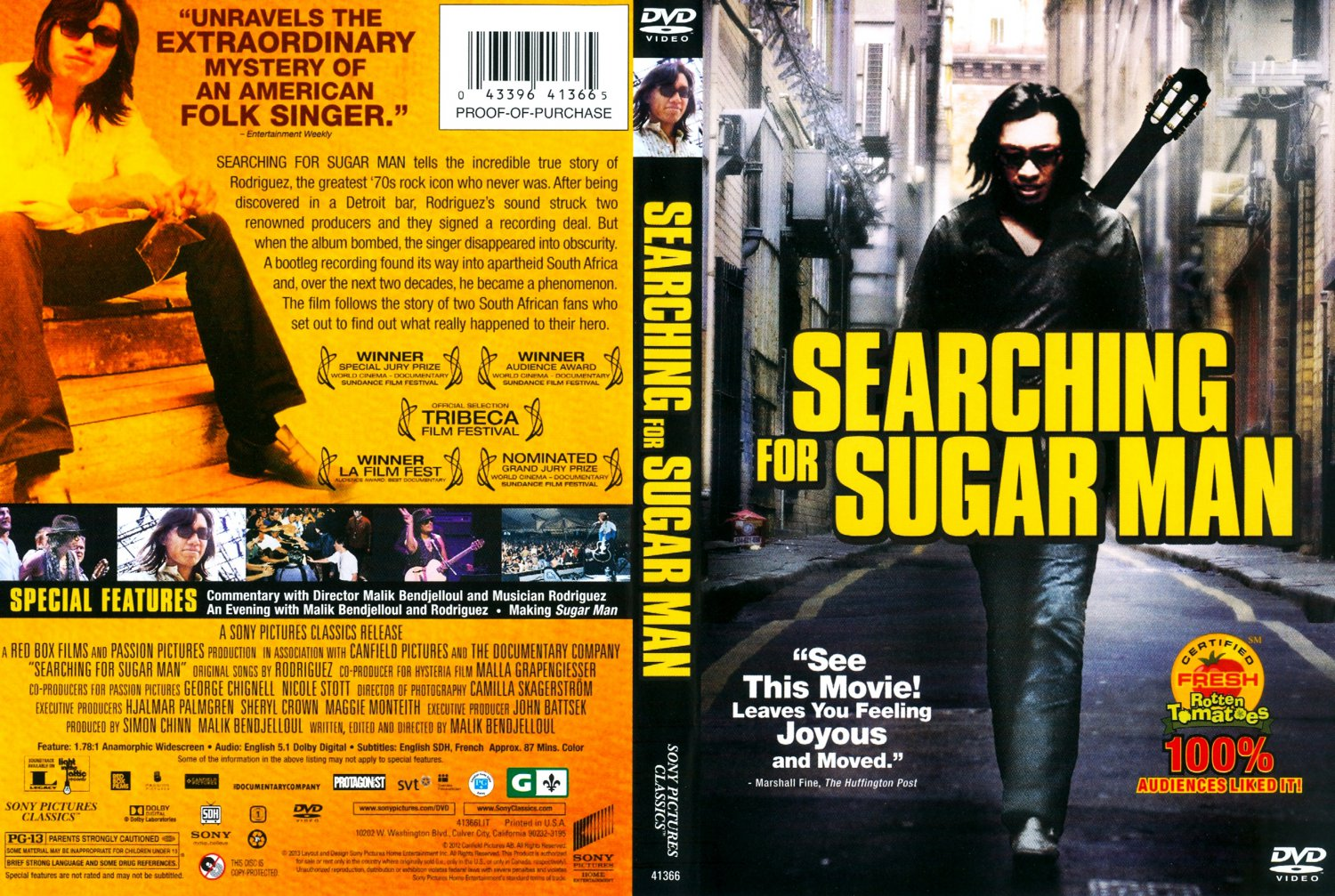 Searching for sugar man movie dvd scanned covers searching for