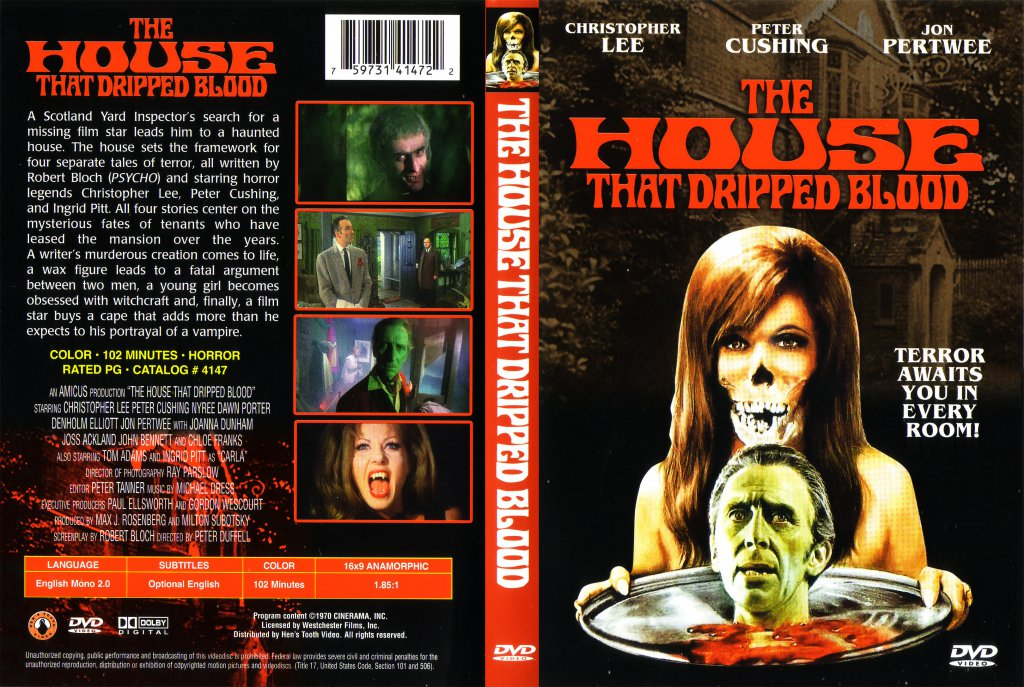 The House That Dripped Blood - Movie DVD Scanned Covers - The ...