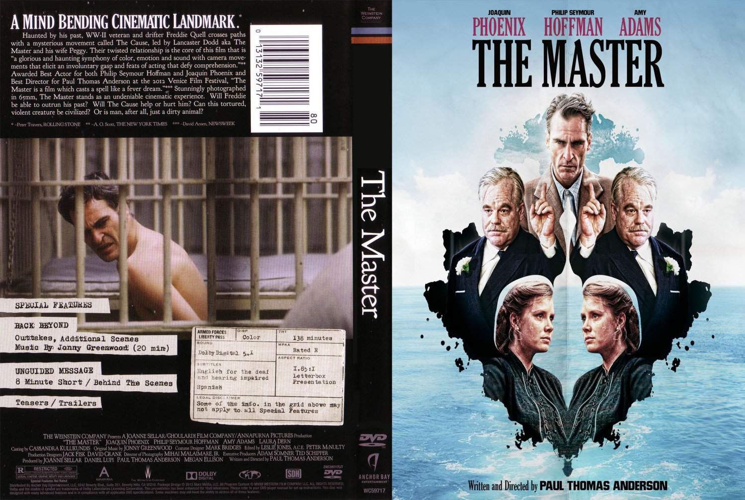 the master movie dvd scanned covers the master1 dvd