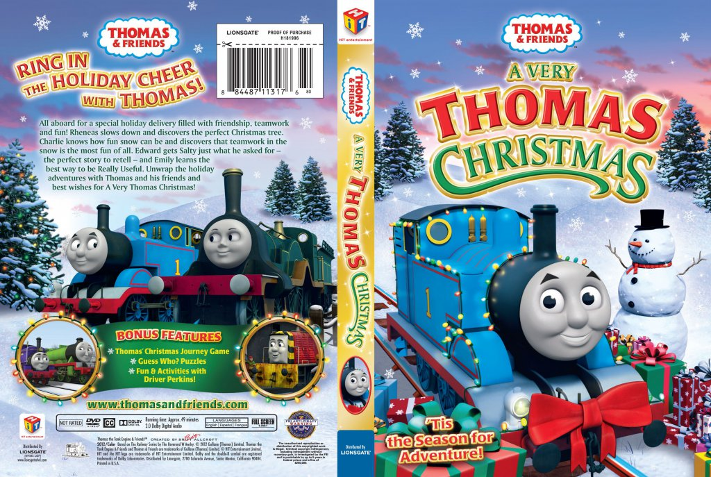 thomas and friends a very thomas christmas