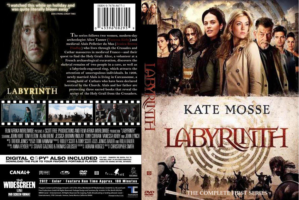 labyrinth series 1 tv dvd custom covers labyrinth series 1 2012 custom cover dvd covers. Black Bedroom Furniture Sets. Home Design Ideas