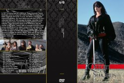 Queen of Swords DVD Cover