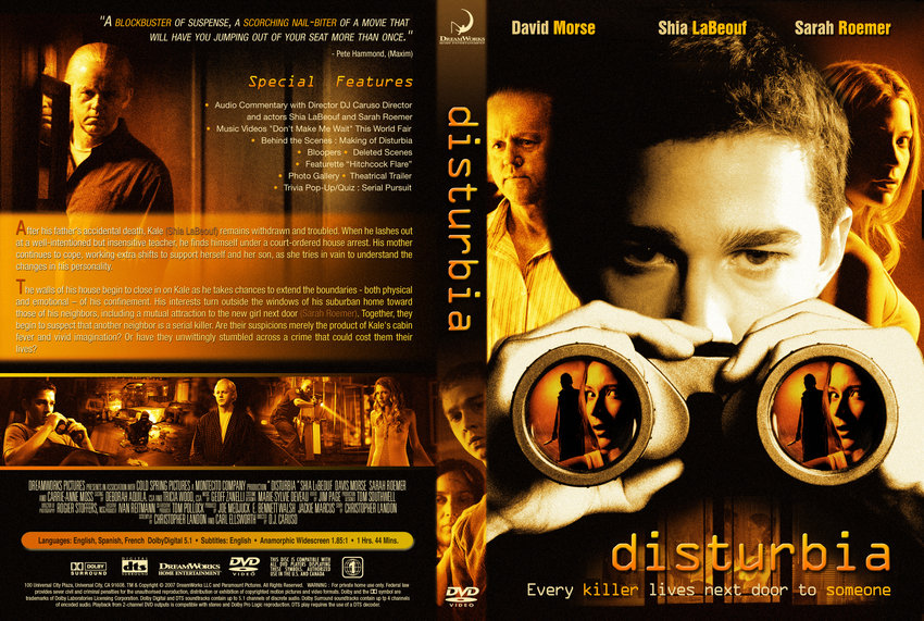 list of synonyms and antonyms of the word disturbia 2007 dvd