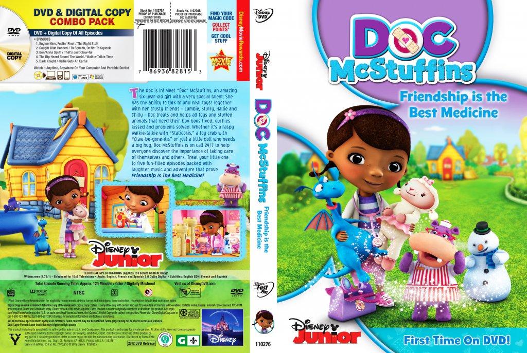 Doc Mcstuffins Friendship Is The Best Medicine Tv Dvd