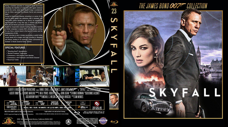 Skyfall - Movie Blu-Ray Custom Covers - 007 - Skyfall ...
