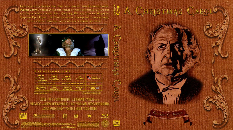 Christmas Carol - Movie Blu-Ray Custom Covers ...