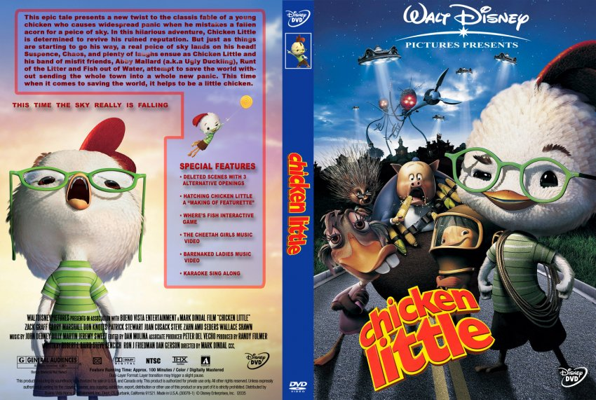 Chicken Little Movie Dvd | www.pixshark.com - Images ...