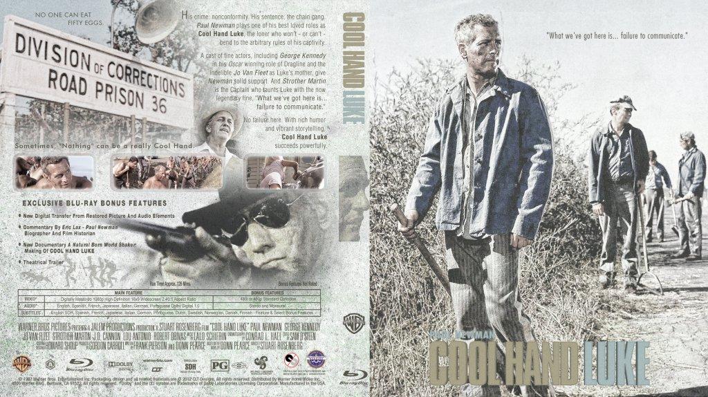 Cool Hand Luke - Movie Blu-Ray Custom Covers ...