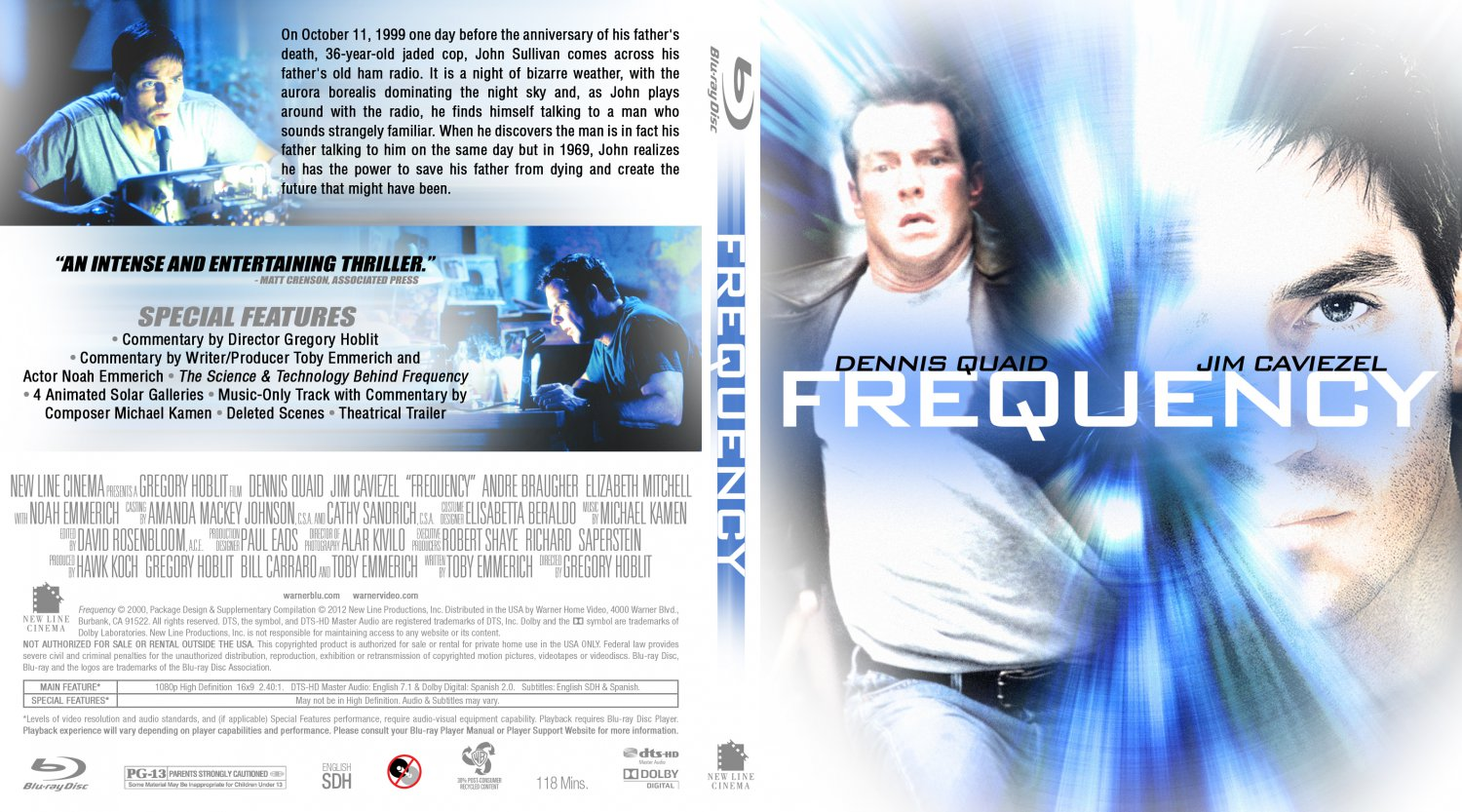 Music from the movie frequency