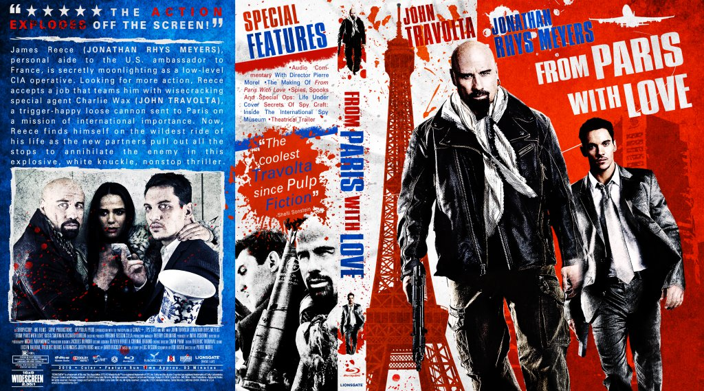 From Paris With Love - Movie Blu-Ray Custom Covers - From ...