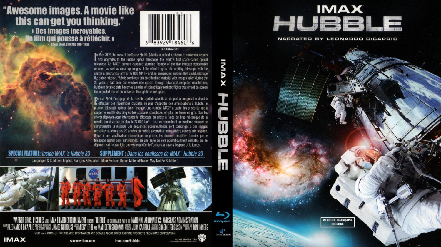 cover blu ray imax hubble - photo #1