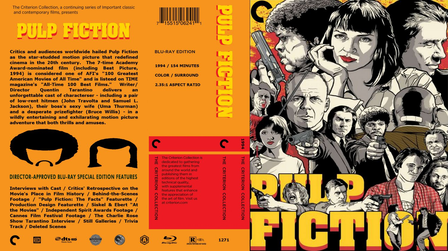 an argument that the movie pulp fiction is an entertainment of the male persuasion