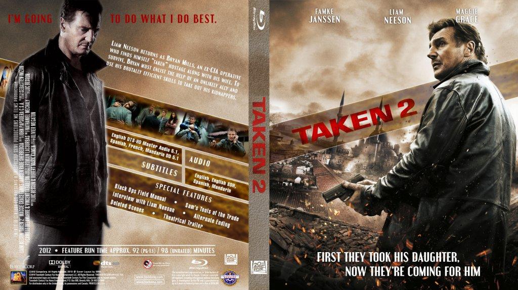 Taken 2 - Movie Blu-Ray Custom - 163.5KB