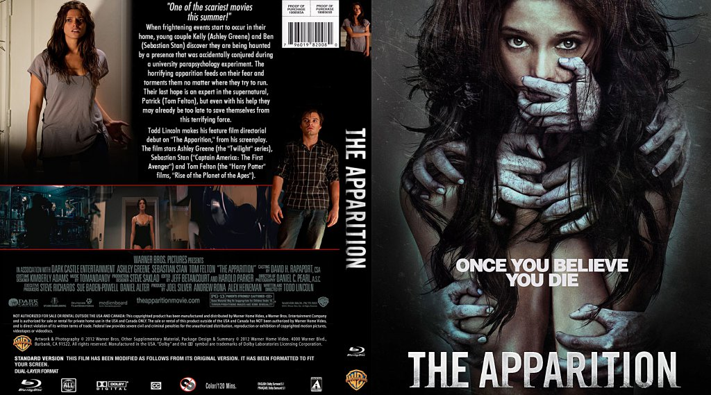 The Apparition Movie Blu Ray Custom Covers The Apparition 2012 Custombd Dvd Covers