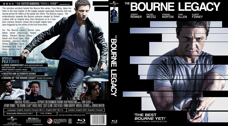 The Bourne Legacy - Movie Blu-Ray Custom Covers - The ...