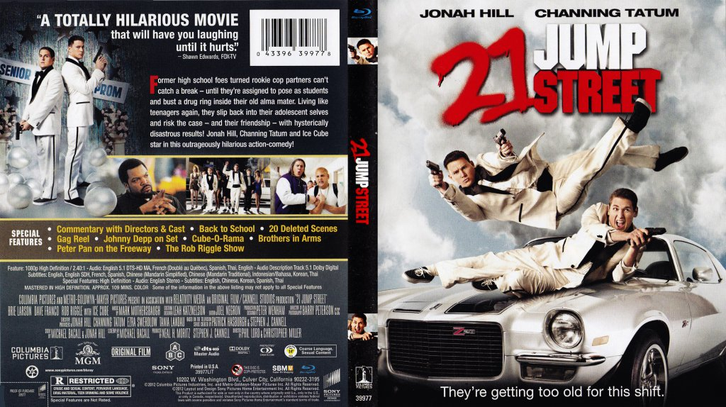 21 Jump Street - Movie Blu-Ray Scanned Covers - 21 Jump ...