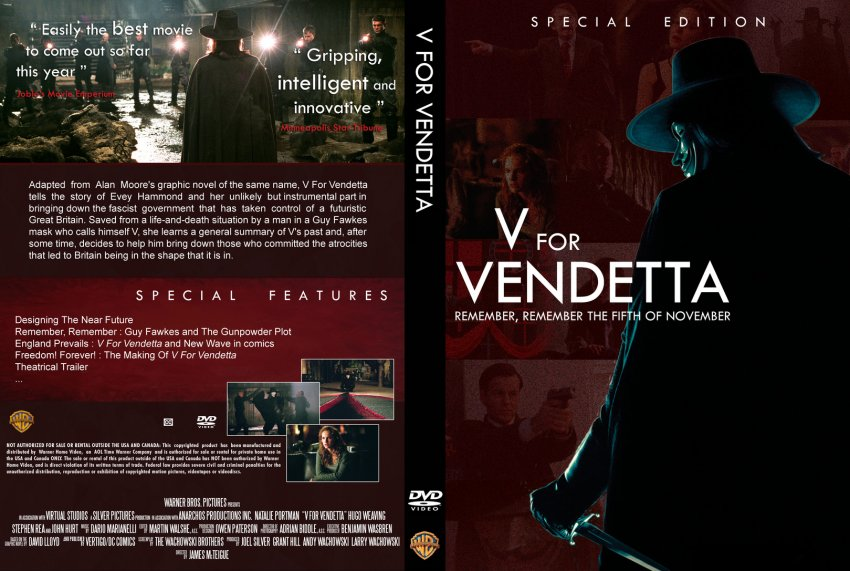 essay v vendetta For example, vs introduction to evey is a monologue containing 48 words  beginning with the letter v, and containing a total of analysis of v for vendetta  film.