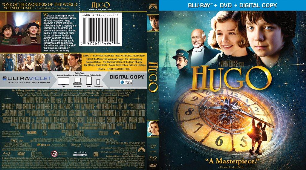 Hugo - Movie Blu-Ray Scanned Covers - hugo-bluraycover ...