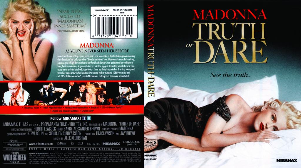 Madonna Madonna Truth Or Dare