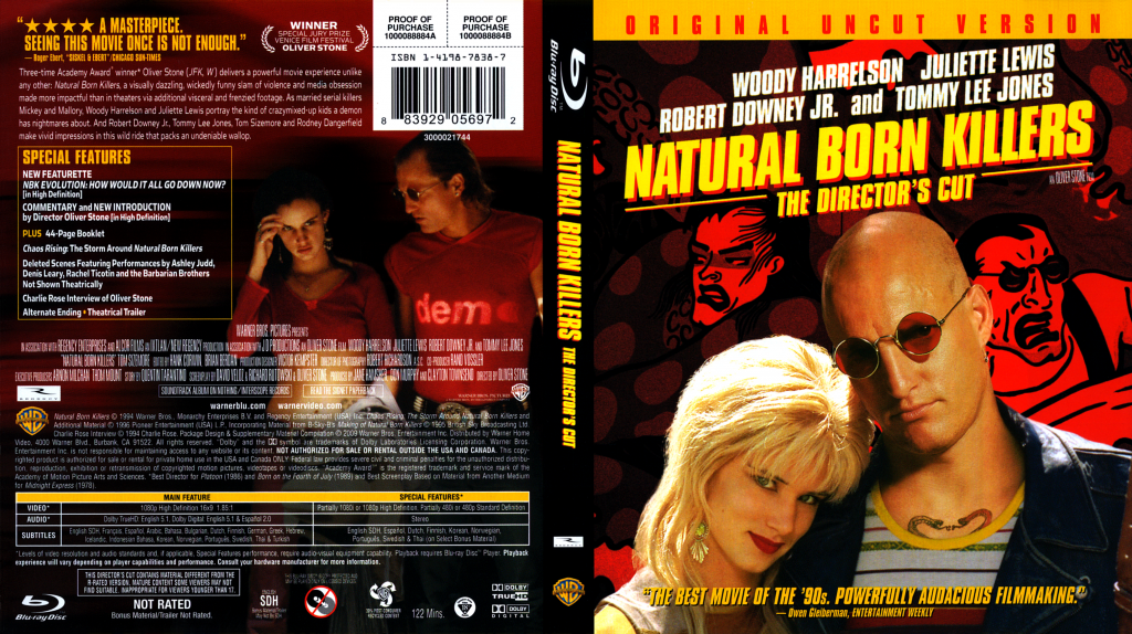 Natural Born Killers Free Movie