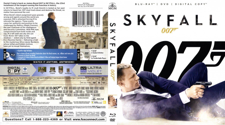 007 skyfall ...007 Skyfall Dvd Cover