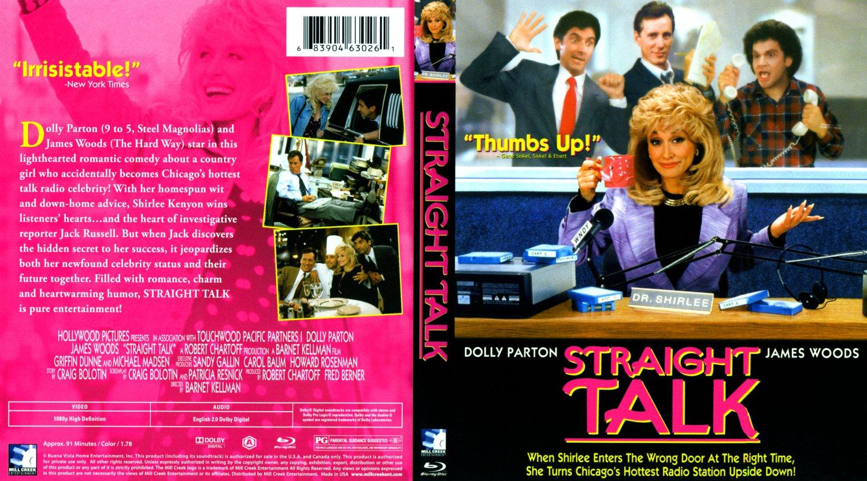 Straight Talk DVD Cover