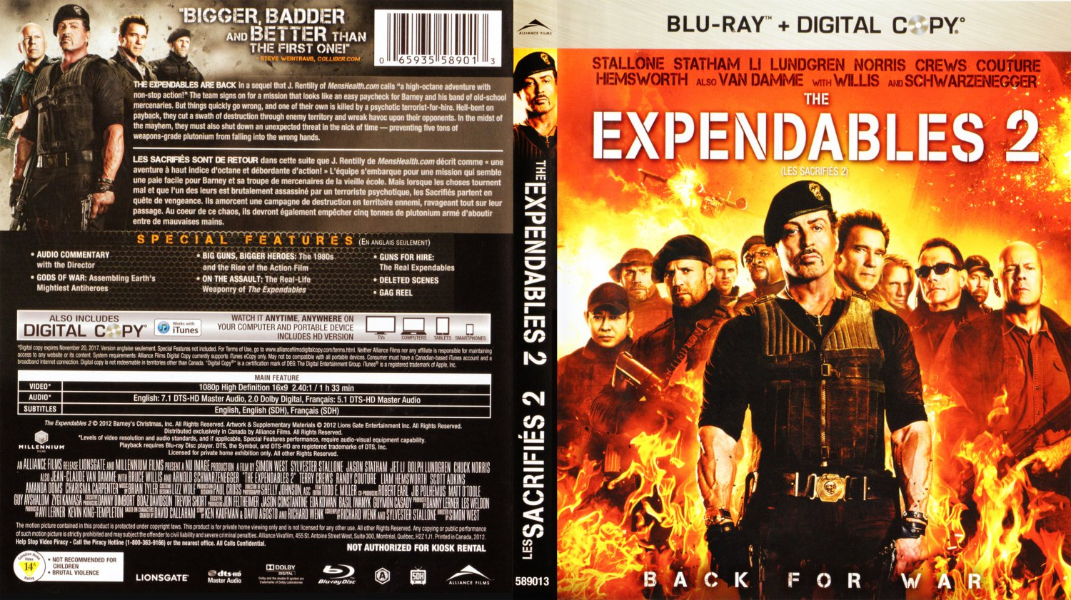 the expendables 2 dvd. the gallery for --> the expendables 2 dvd - eydt