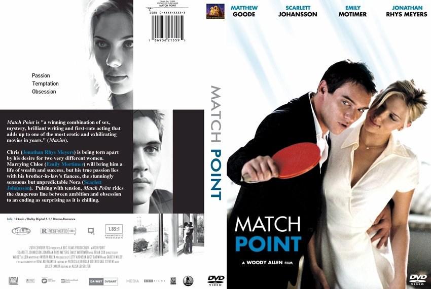 Match Point - Movie DVD Custom Covers - 3123Match Point ...