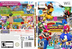 Mario and Sonic at the London 2012 Olympic Games DVD NTSC Custom f1