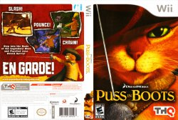 Puss in Boots DVD NTSC Custom f1