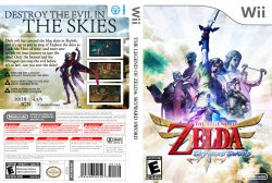 The Legend of Zelda Skyward Sword DVD NTSC Custom f2
