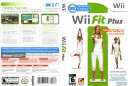 Wii Fit Plus DVD English French Spanish NTSC f
