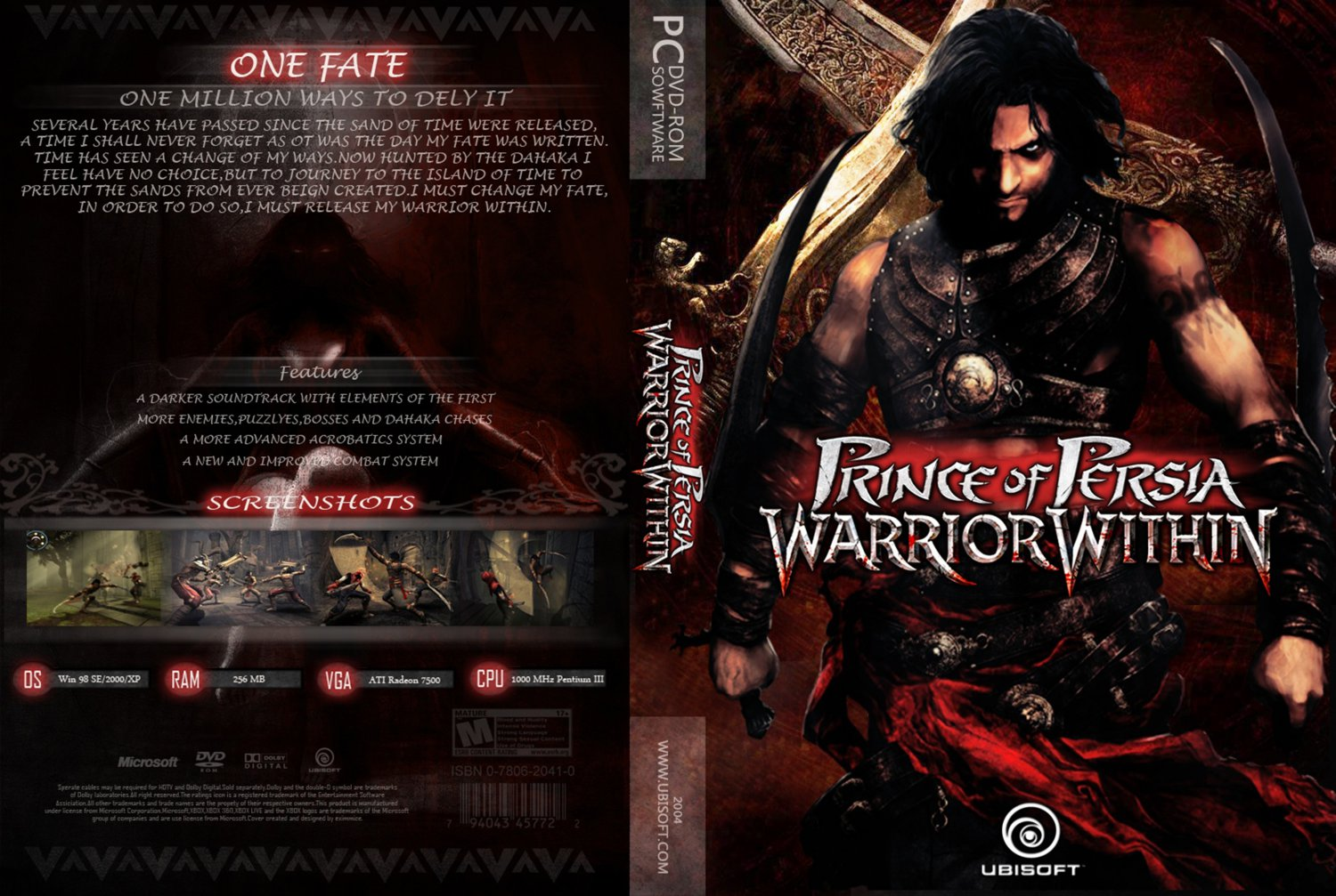 TÉLÉCHARGER PRINCE OF PERSIA WARRIOR WITHIN PC GRATUIT COMPLET STARTIMES