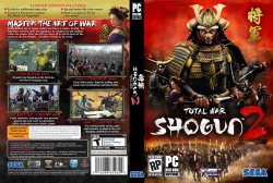 Shogun 2 Total War DVD NTSC Custom f