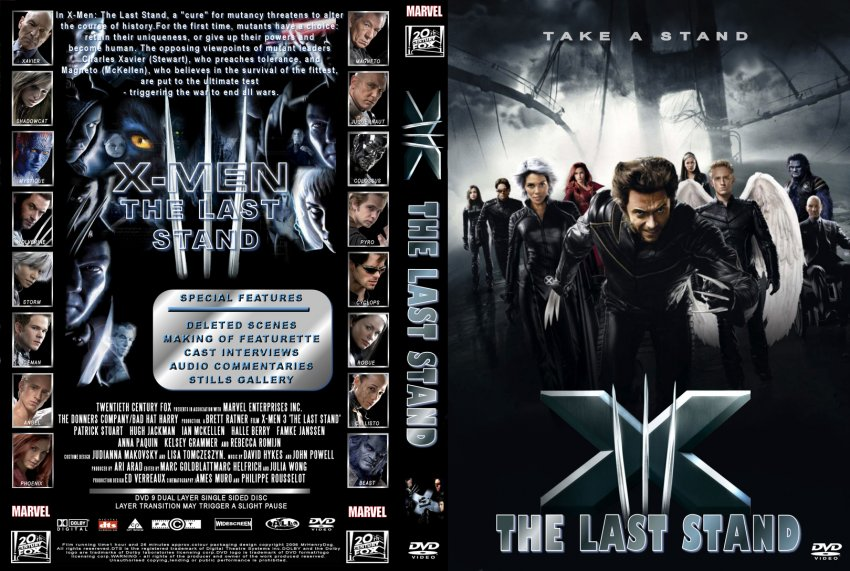 X Men Dvd Cover: Movie DVD Custom Covers