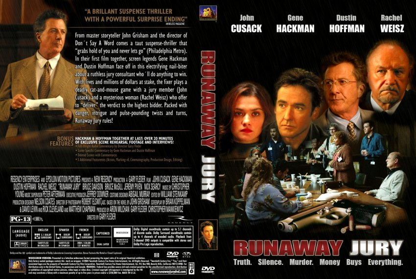 an analysis of the runaway jury by josh grisham Movie runaway jury grisham essays - the runaway jury by john grisham essay about analysis of the client by john grisham - analysis of the client by john grisham the client by john grisham takes place in memphis, tennessee.
