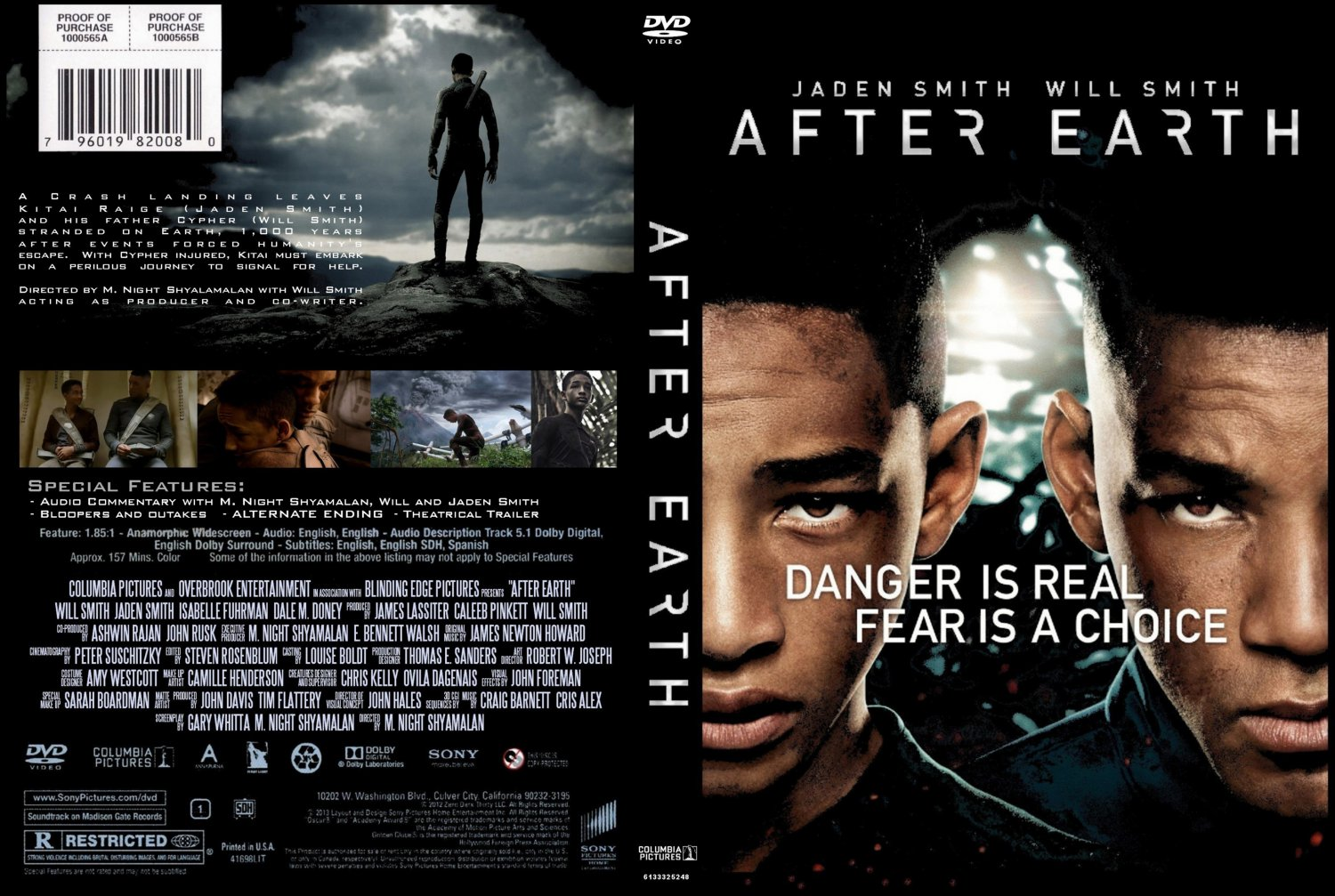 After Earth DVD Cover