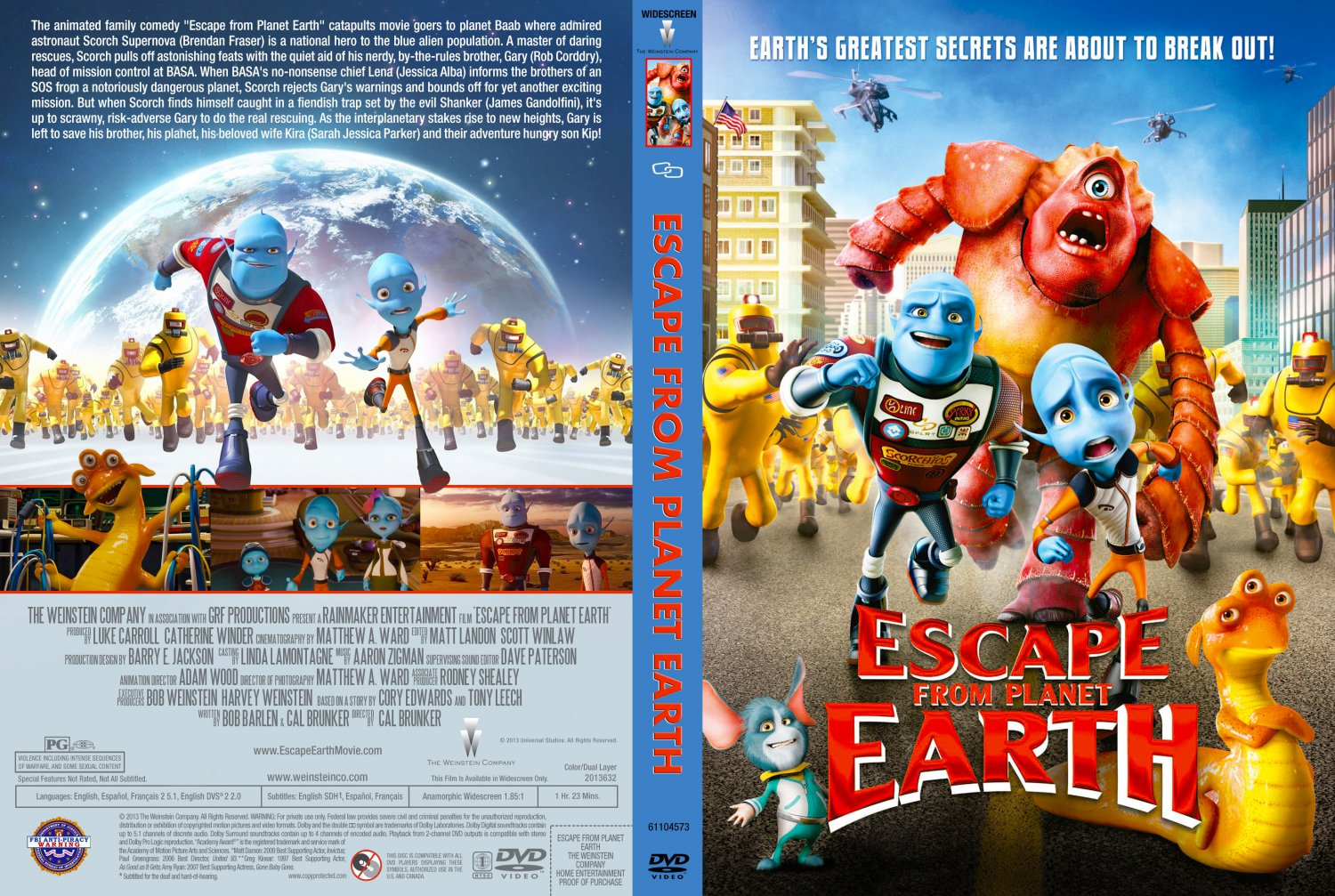 escape from planet earth lerne sefe