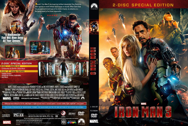 Iron Man 3Iron Man Dvd Cover