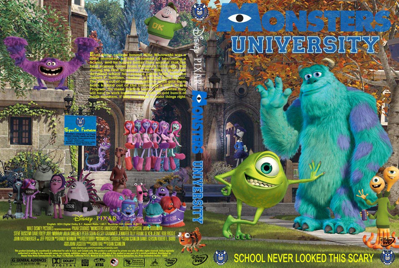 Monsters University - Movie DVD Custom Covers - Monsters ...