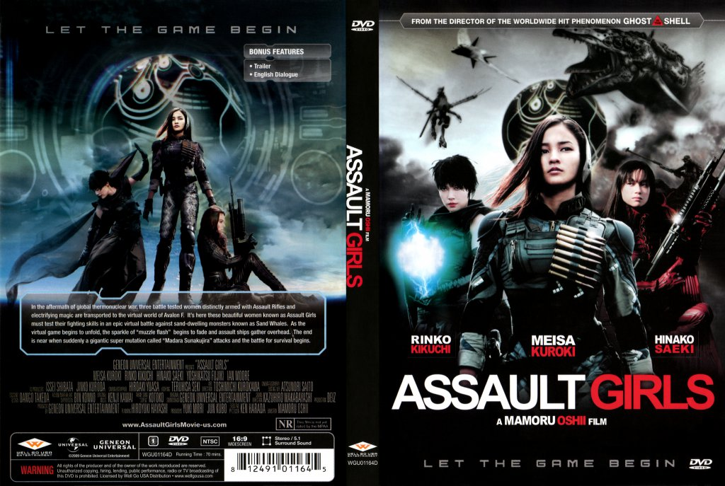 Assault Girls - Movie DVD Scan...