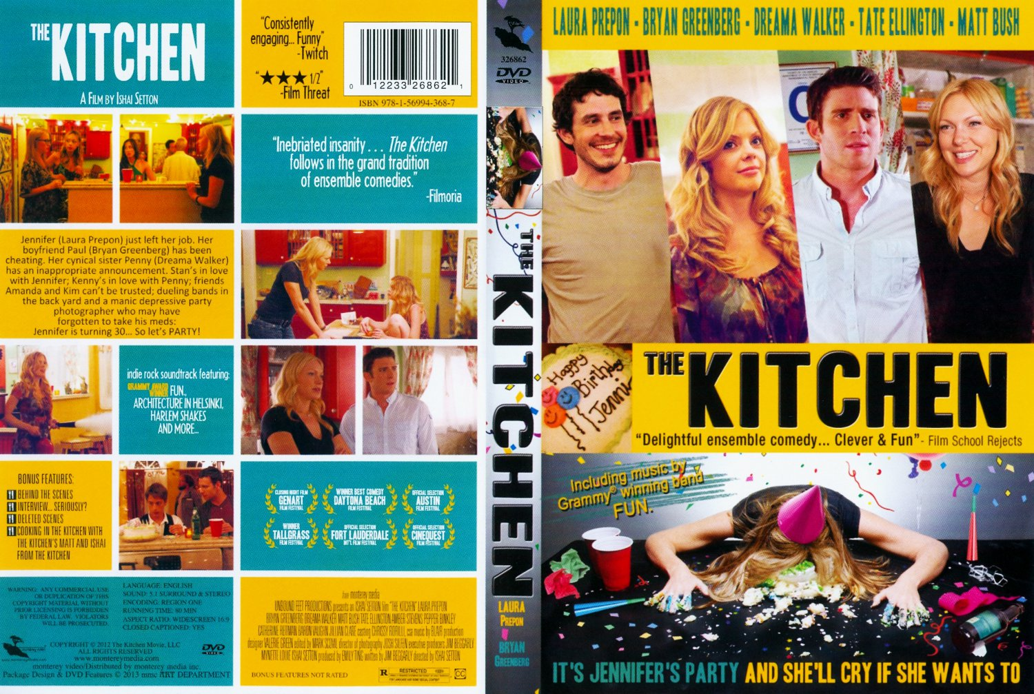 Kitchen Game The Kitchen - Movie DVD Scanned Covers - The Kitchen ...