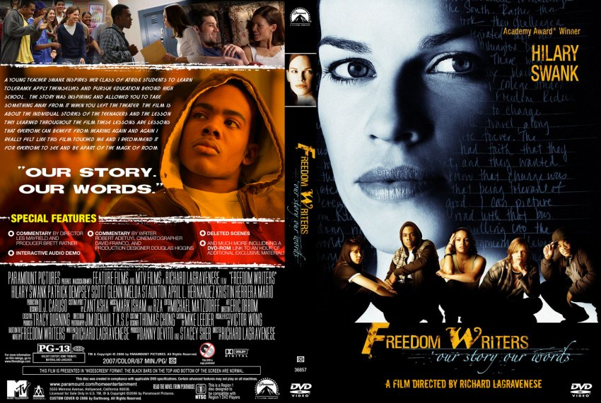 "a movie analysis of freedom writers by richard lagravenese In ""freedom writers and the class sees through her as if she were glass because the writer and director richard lagravenese movie data powered by."