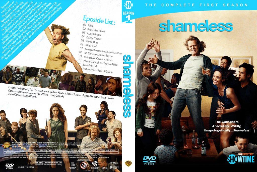 shameless season 1 tv dvd custom covers shameless