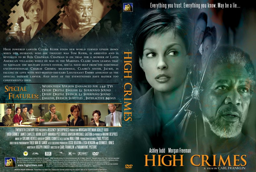 High Crimes - Movie DVD Custom Covers - 3157HighCrimes1 :: DVD Covers