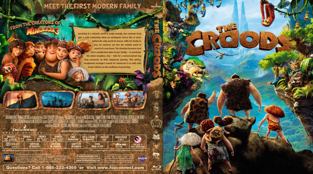 The Croods Dvd Cover